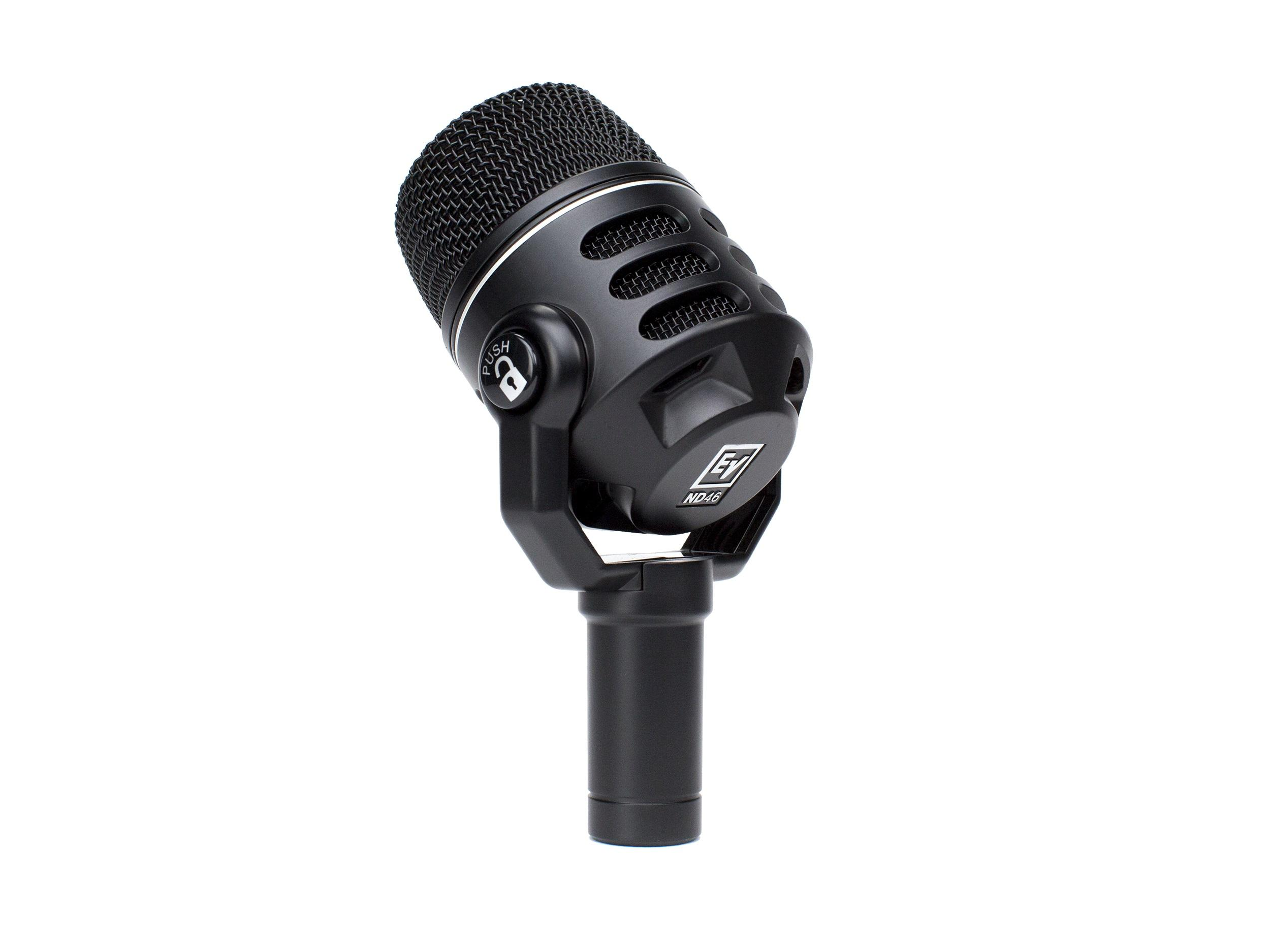 Electro-Voice ND46 Supercardioid Dynamic Instrument Microphone