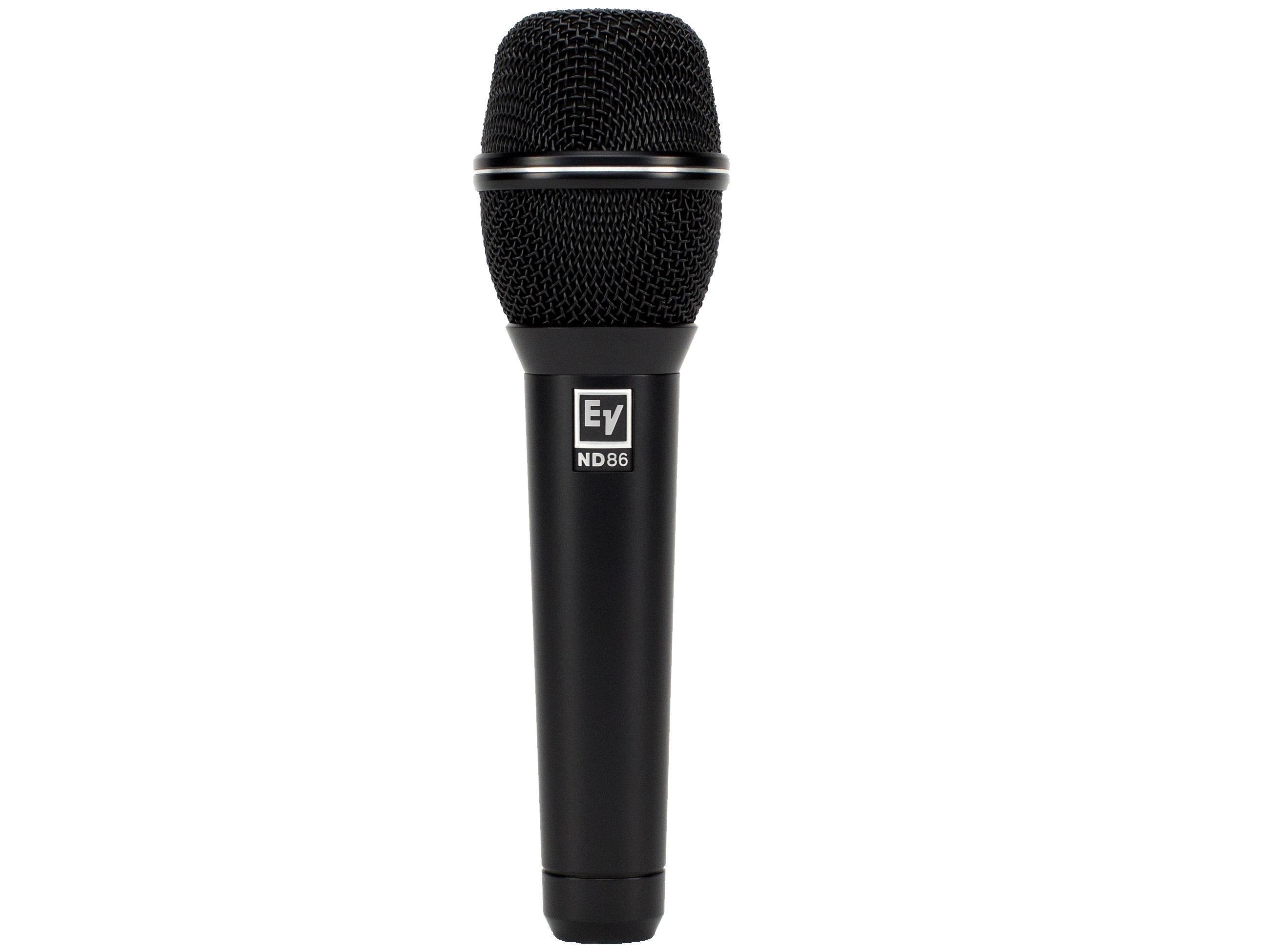 Electro-Voice ND86 7.19 inch Supercardioid Dynamic Vocal Microphone