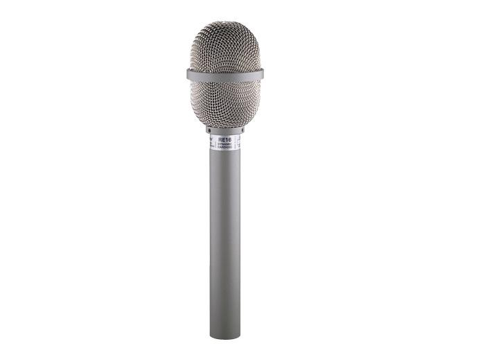Electro-Voice RE16 Variable-D Dynamic Supercardioid Microphone with Pop Filter (Frequency Response 80Hz to 15kHz)