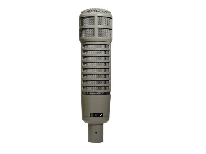 Electro-Voice RE20 Variable-D Dynamic Cardioid Studio Microphone (Frequency Response 45Hz to 18kHz)