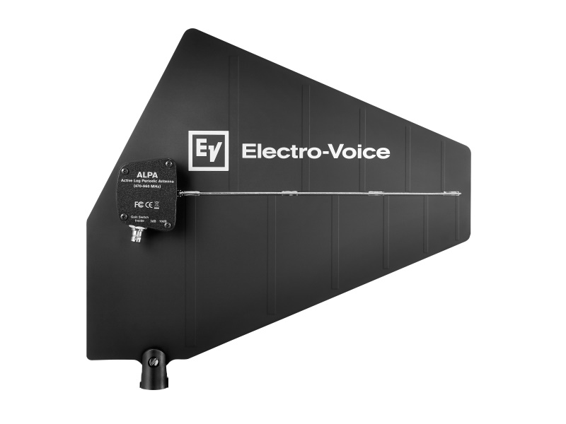 Electro-Voice RE3ACCALPA Active Log Periodic Antenna/470-960MHz