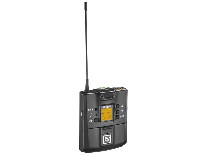 Electro-Voice RE3BPT5L UHF Wireless Bodypack Extender (Transmitter) 488-524MHz