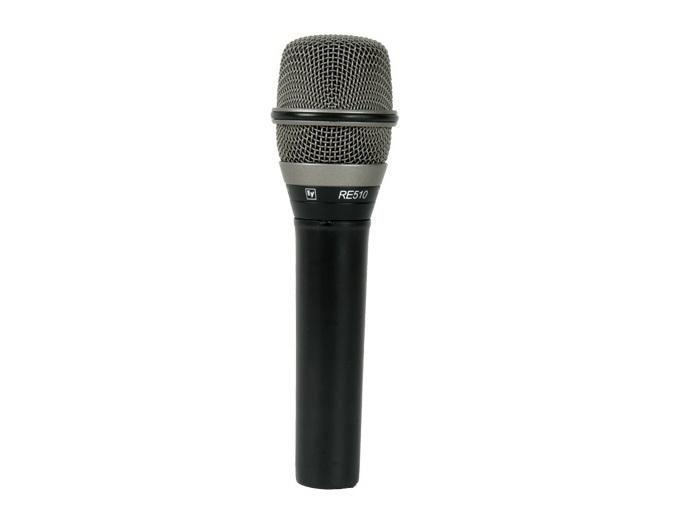 Electro-Voice RE510 Condenser Supercardioid Handheld Vocal Microphone (Frequency Response 40Hz to 20kHz)
