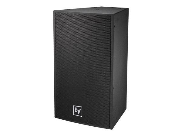 Electro-Voice EVF1152D/66FGB Single 15 inch 2-Way Full-Range Loudspeaker/60x60deg/Fiberglass/Weatherized/Black