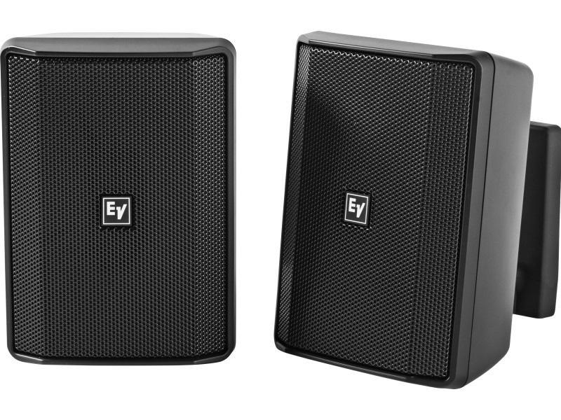 Electro-Voice EVIDS4.2TB 4 inch 70/100V Speaker Cabinet (Black/Pair)