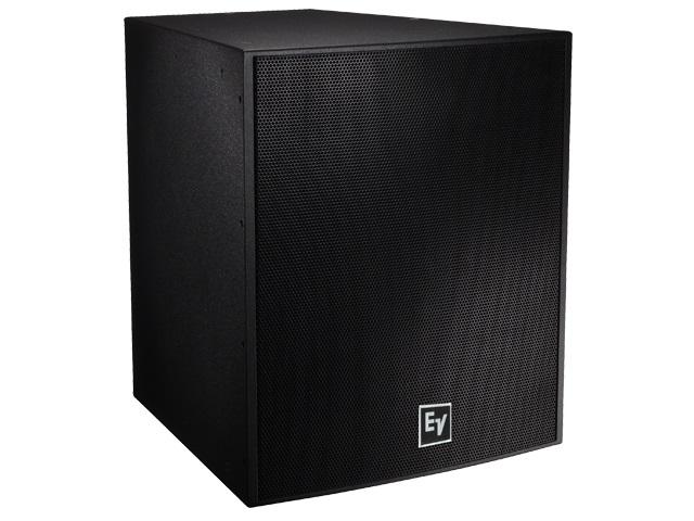 Electro-Voice EVF1181SPIB 18 inch 400W Front-Loaded Subwoofer/Bi-Amp Only/Evcoat/Pi-Weatherized/Black