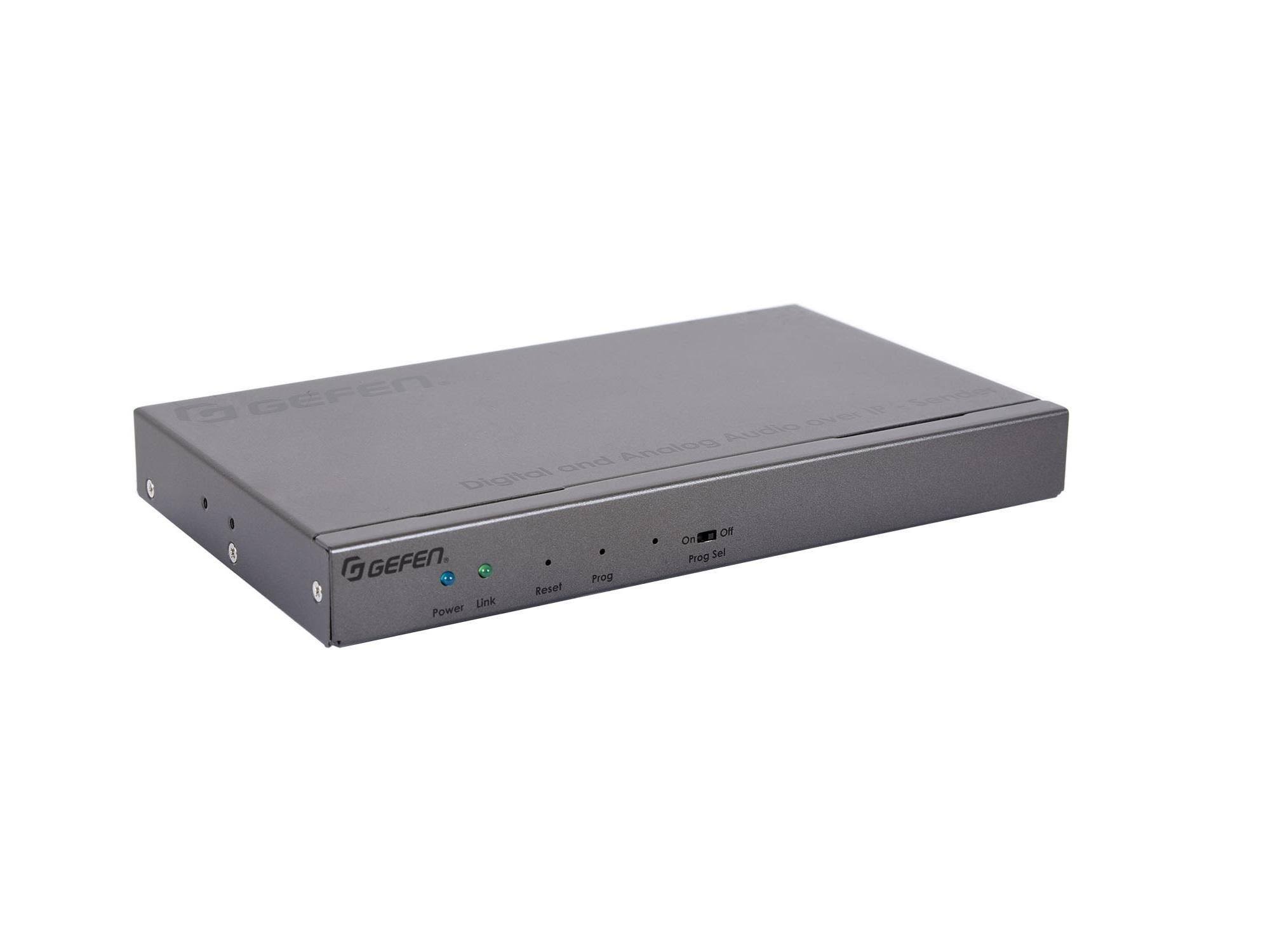 Gefen EXT-ADA-LAN-TX Digital and Analog Audio over IP Extender (Transmitter) with RS-232/IR