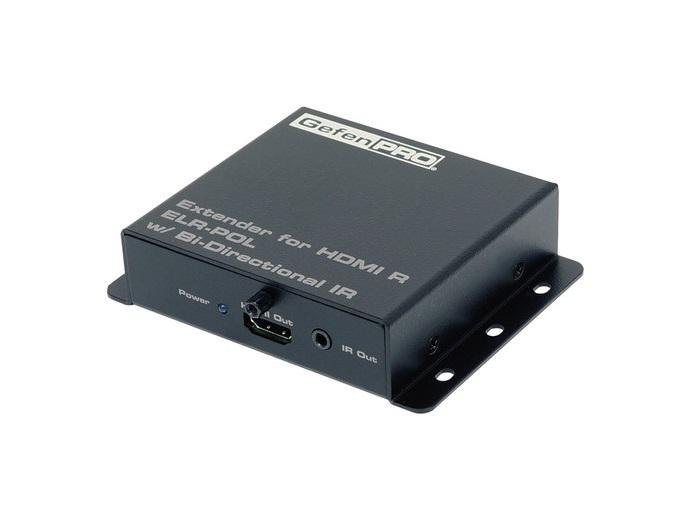 Gefen GEF-HD-2IR-ELRPOL-R HDMI/Bi-directional IR Extender (Receiver) Unit for Modular Matrix Systems with POL/ELR