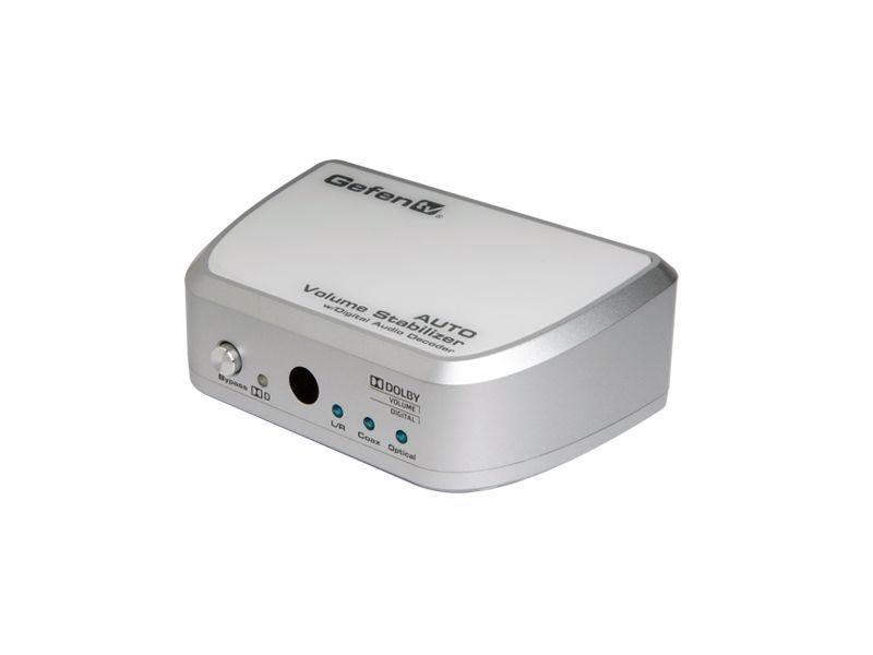 Gefen GTV-VOLCONT-D-B GefenTV Auto Volume Stabilizer Digital Audio Decoder