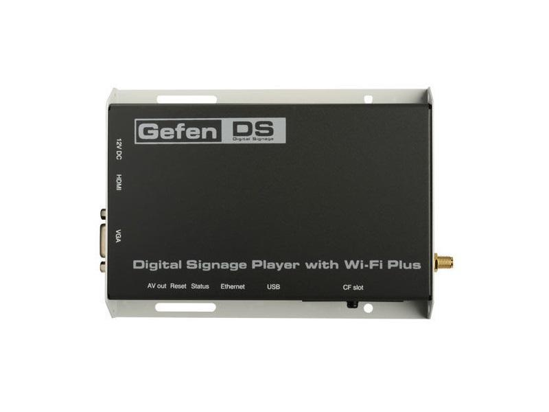 Gefen EXT-HD-DSWFP Digital Signage Player with Wi-Fi Plus and Composite Video input