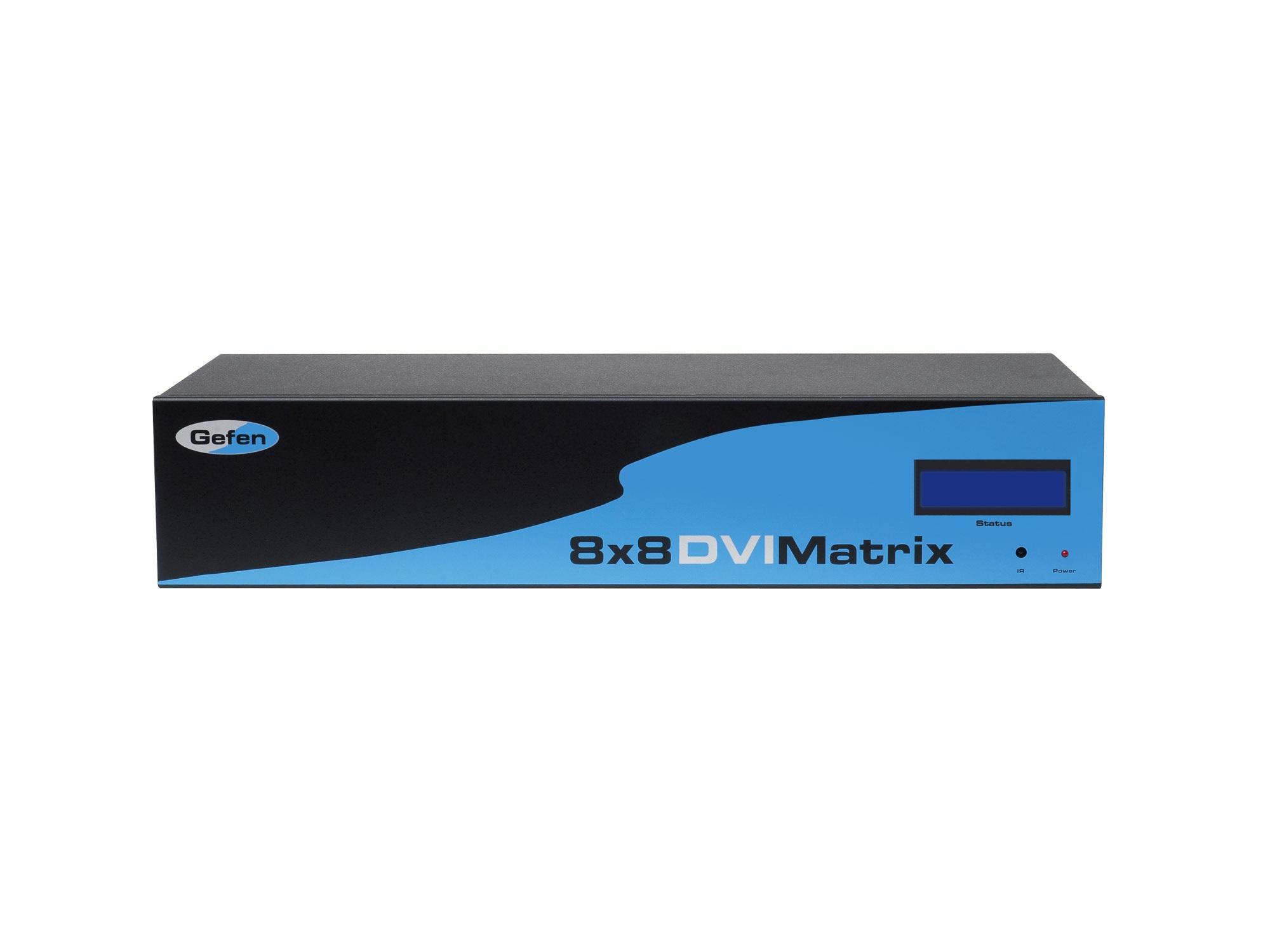 Gefen EXT-DVI-848 8x8 DVI matrix switch