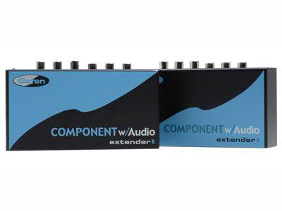 Gefen EXT-COMPAUD-141 Component with Analog/Digital Audio Extender (Transmitter/Receiver) Kit/Up to 330ft