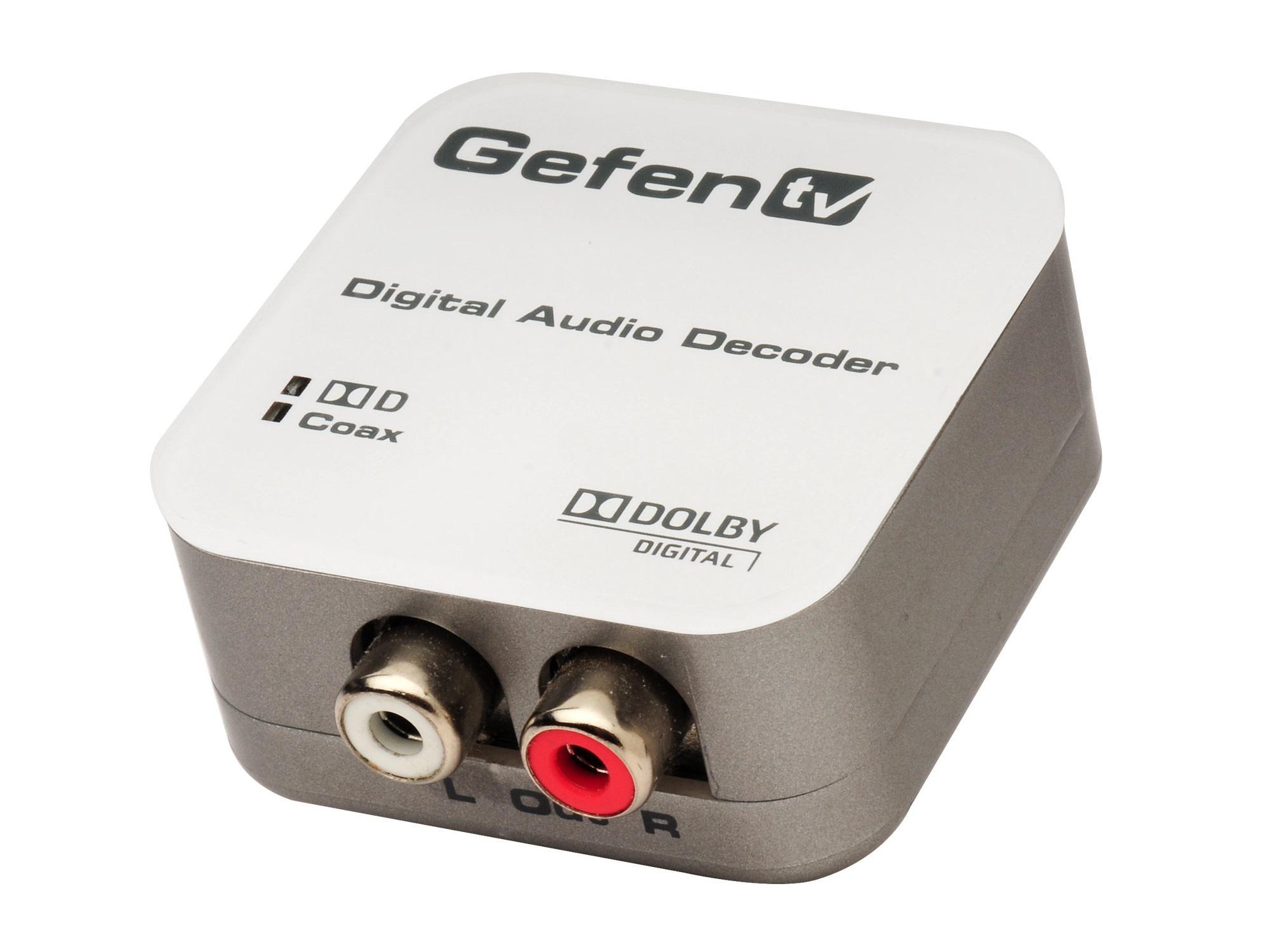 Gefen GTV-DD-2-AA TV Digital to Analog Decoder
