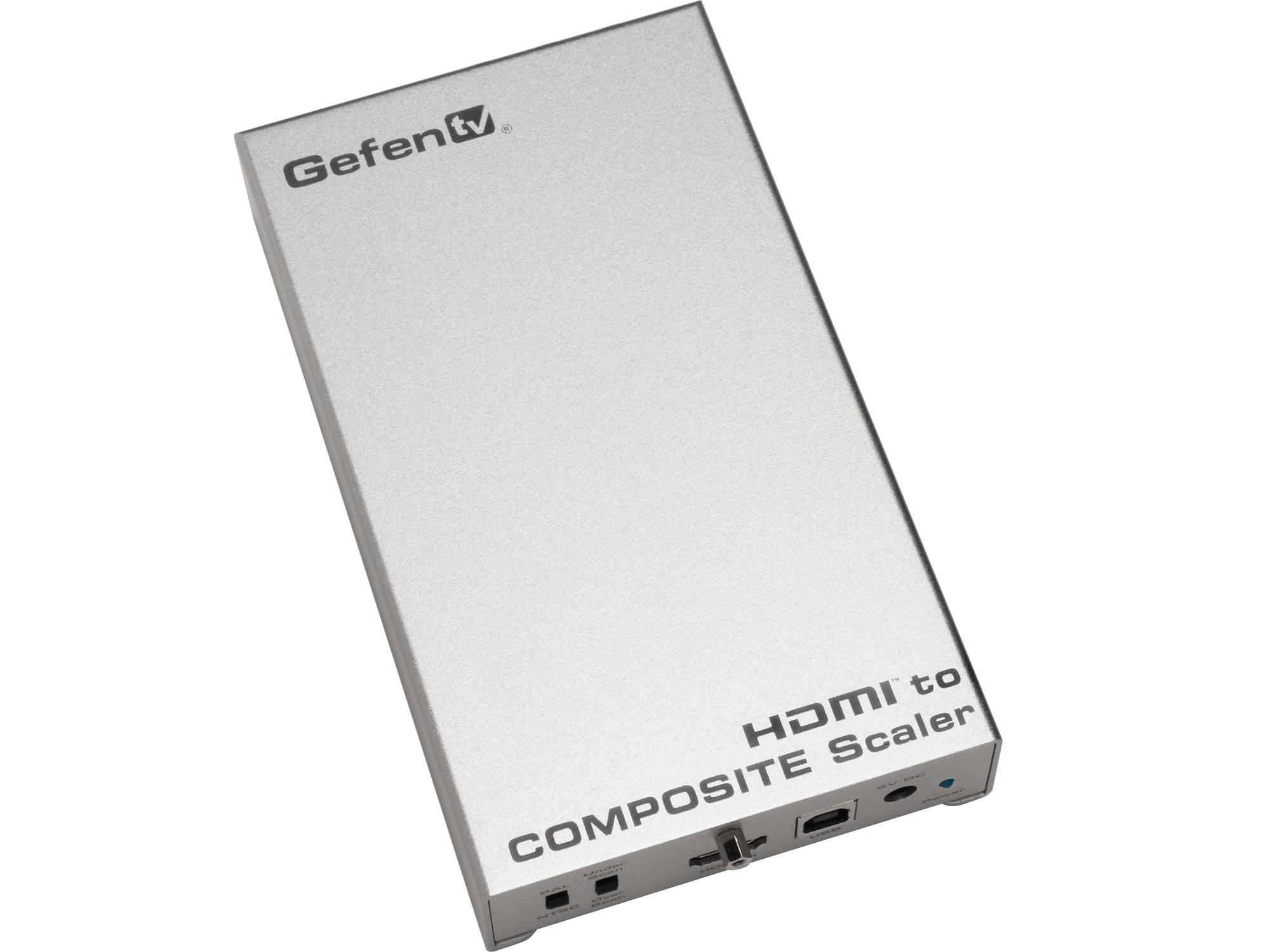 Gefen GTV-HDMI-2-COMPSVIDSN HDMI to Composite / S-Video Scaler