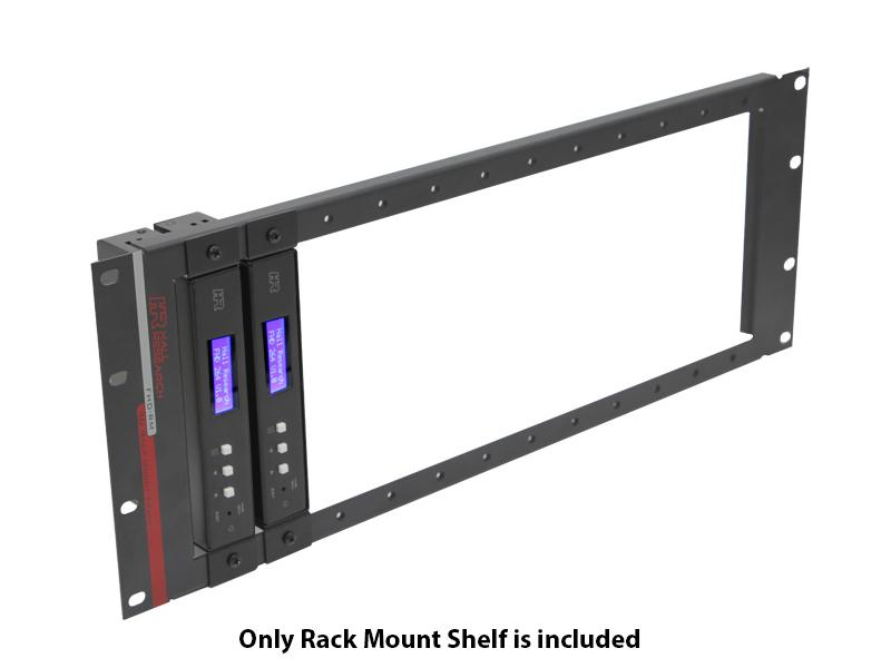 Hall Research FHD-RM Rack Mount Shelf/1 RU
