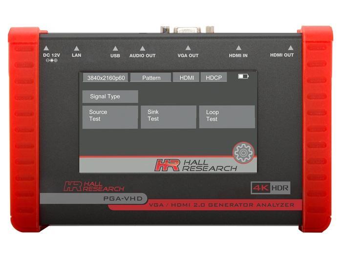 Hall Research PGA-VHD HDMI/VGA Video Generator/Tester and Analyzer
