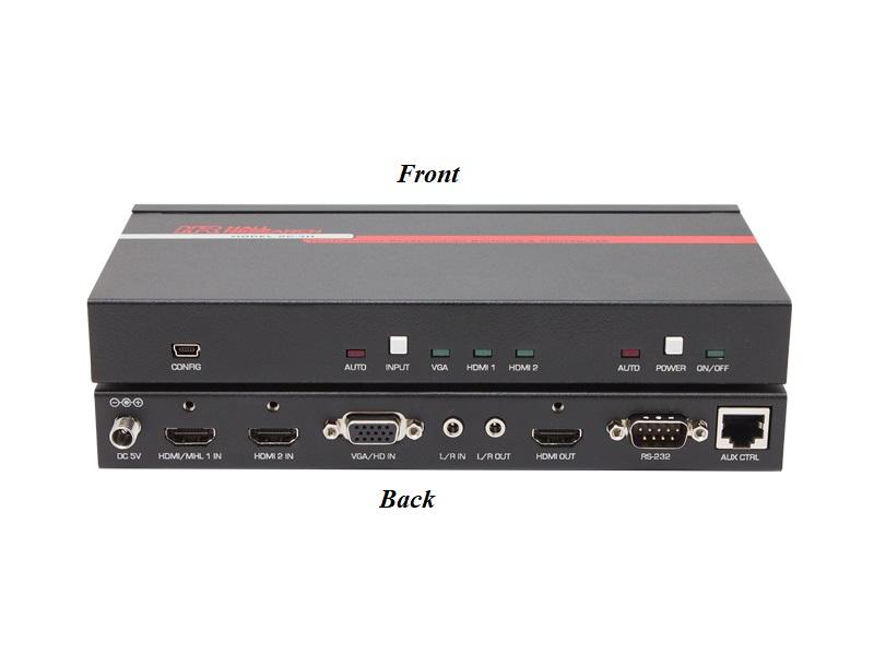 Hall Research SC-3H Multi-Format Presentation Switcher and Controller