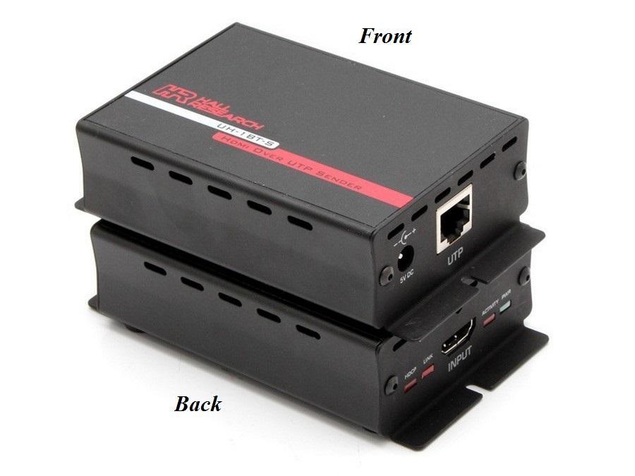 Hall Research UH-1BT-S HDMI over UTP Extender (Sender) Class B  HDBaseT-Lite