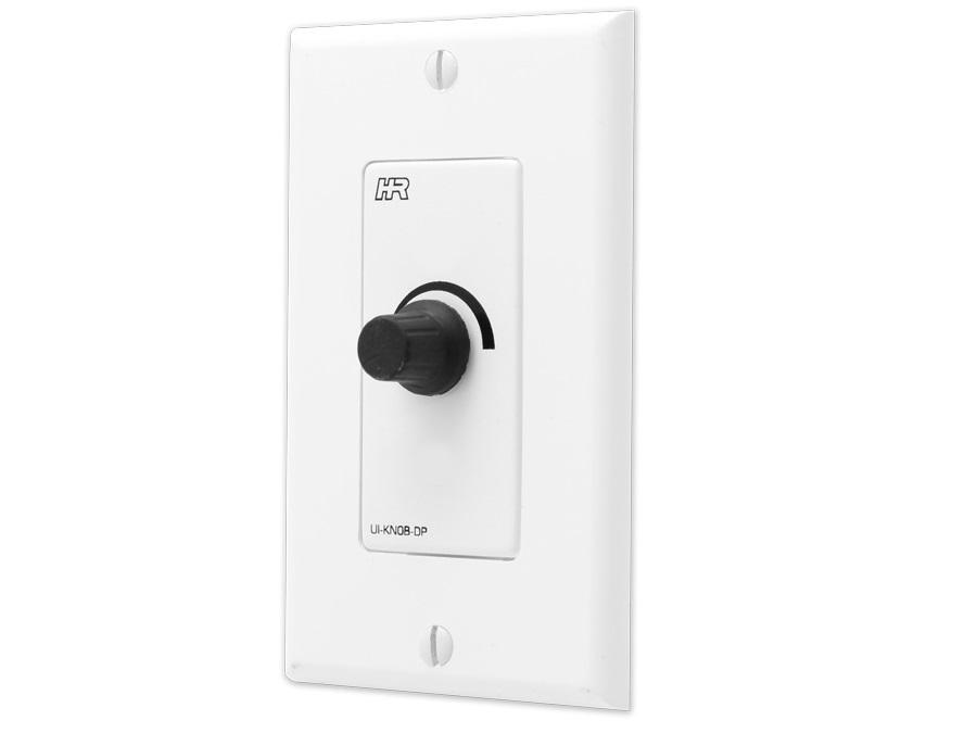 Hall Research UI-KNOB-DP Rotary Volume Control (digital-encoder) on Decora Wall-Plate