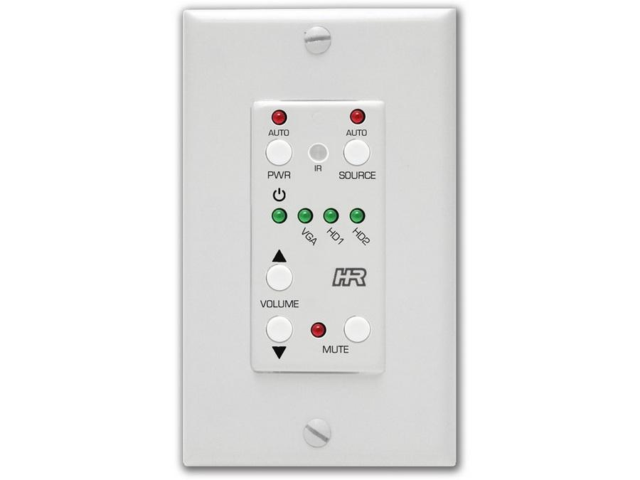 Hall Research SW3-UI-VOL Auxillary Keypad Wall Plate Controller (3 add buttons)