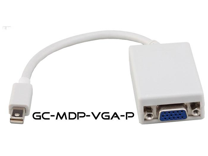 Hall Research GC-MDP-VGA-P Mini-DisplayPort to VGA Adapter Pigtail