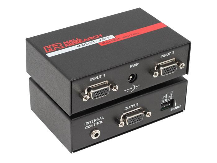 Hall Research VS-2 2 Channel VGA Video Switch up to 1600x1200