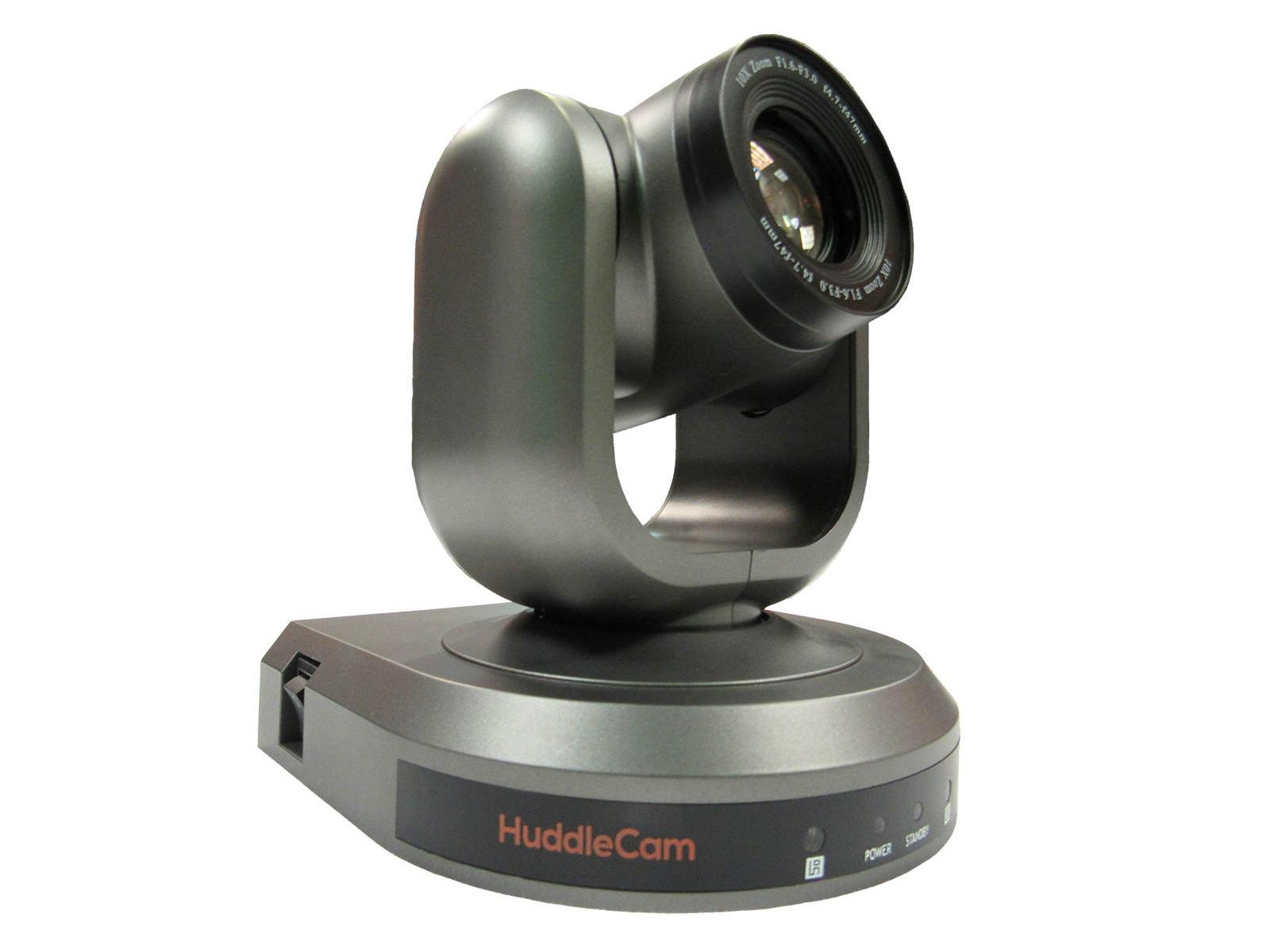 HuddleCamHD HC10X-GY-G3 10X Optical Zoom/USB 3.0/1920x1080p Camera/61 degree FOV Lens/Gray