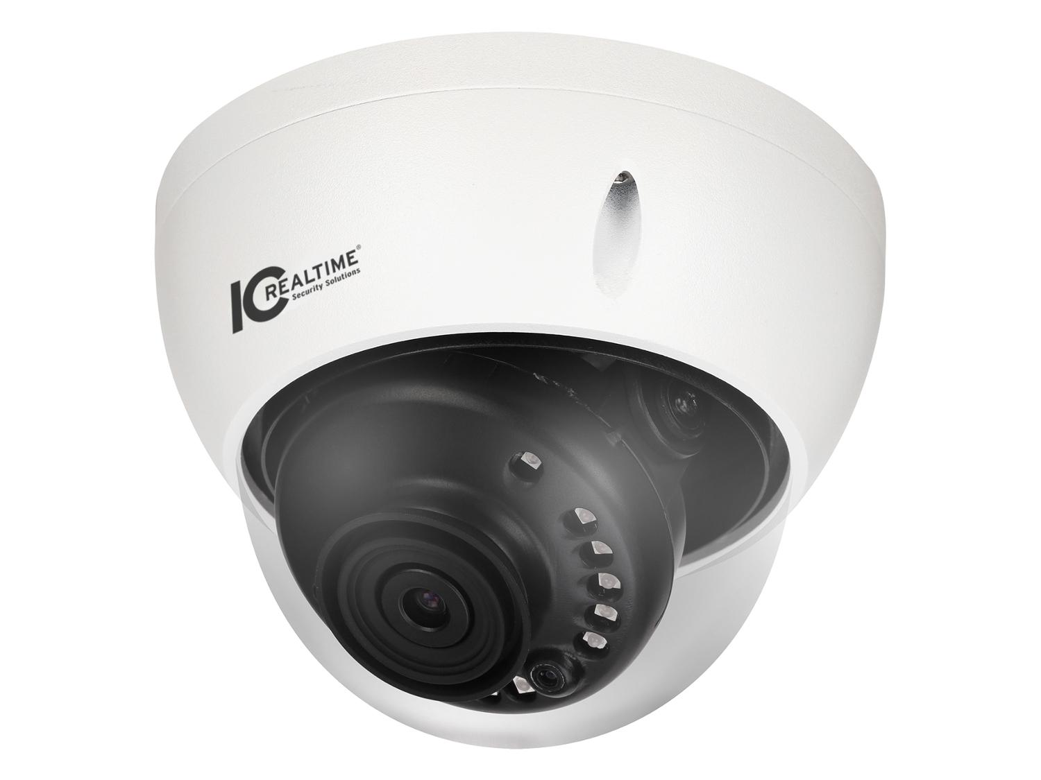 ICRealtime AVS-5MD4025-IR 5MP HDAVS Indoor/Outdoor Mid Size Vandal Dome/Fixed 2.8mm Lens/90 Feet IR
