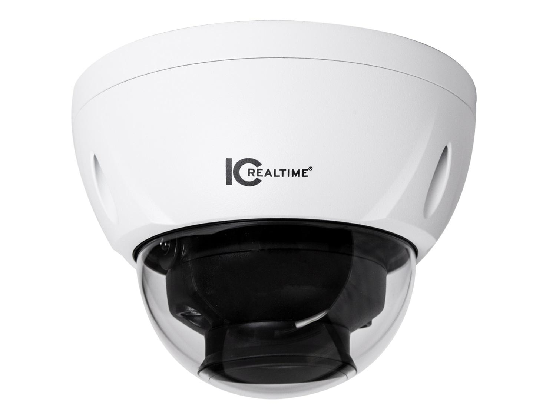ICRealtime AVS-D8712SL-DP 8MP HD-AVS Indoor/Outdoor Mid Size Vandal Dome Camera/I-Sniper/3.7-11mm/98ft IR/Dual Voltage 12VDC/24VAC