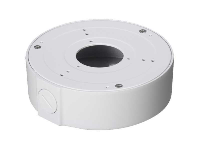 ICRealtime MNT-JUNCTION BOX 1 Round Junction Box For Avs Mini Domes/Round Bullet