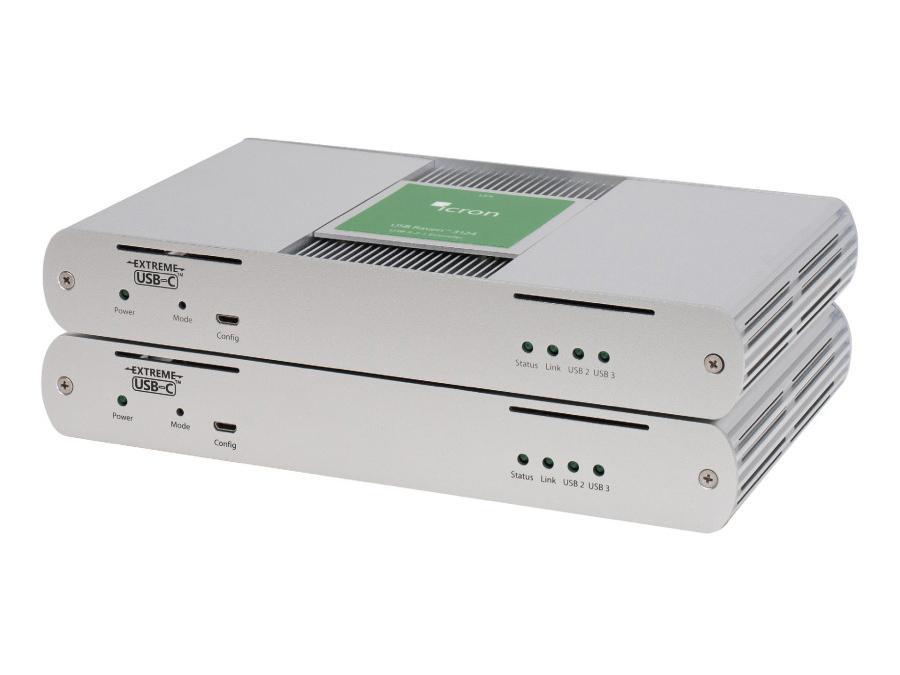 Icron 3124NA 4-Port USB 3.1 Multimode Fiber Extender (Transmitter/Receiver) System up to 200m