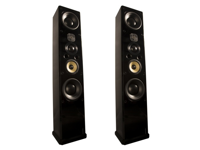 Induction Dynamics ID1 6.5in 3-Way/4-Way Speaker w Dual 10in Subwoofers/Pair