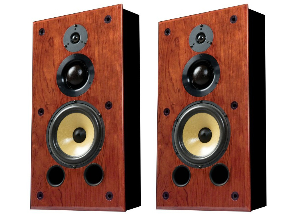 Induction Dynamics S1.8iw 8in 3-Way In-Wall Speaker/50 Hz - 20 kHz/Pair