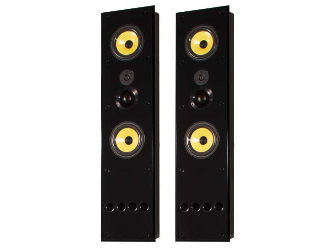 Induction Dynamics S1.8Tiw Dual 8in 3-Way In-Wall Speaker/36Hz - 20kHz/Pair
