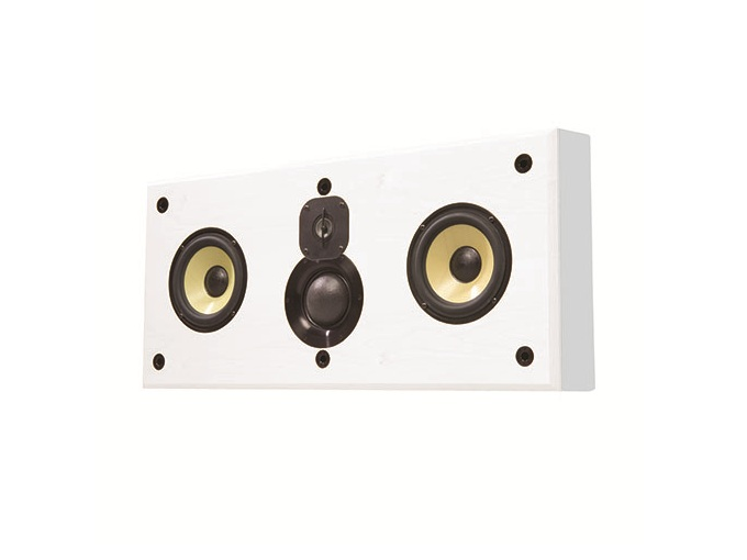 Induction Dynamics C1.w Dual 6.5in 3-Way On-Wall Center Speaker/70 Hz - 20 kHz