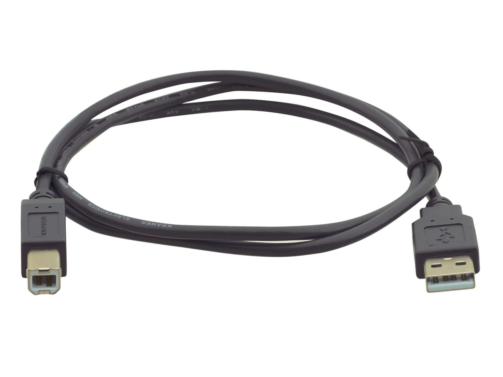 Kramer C-USB/AB-3 USB 2.0 Type A to Type B Printer Cable - 3ft
