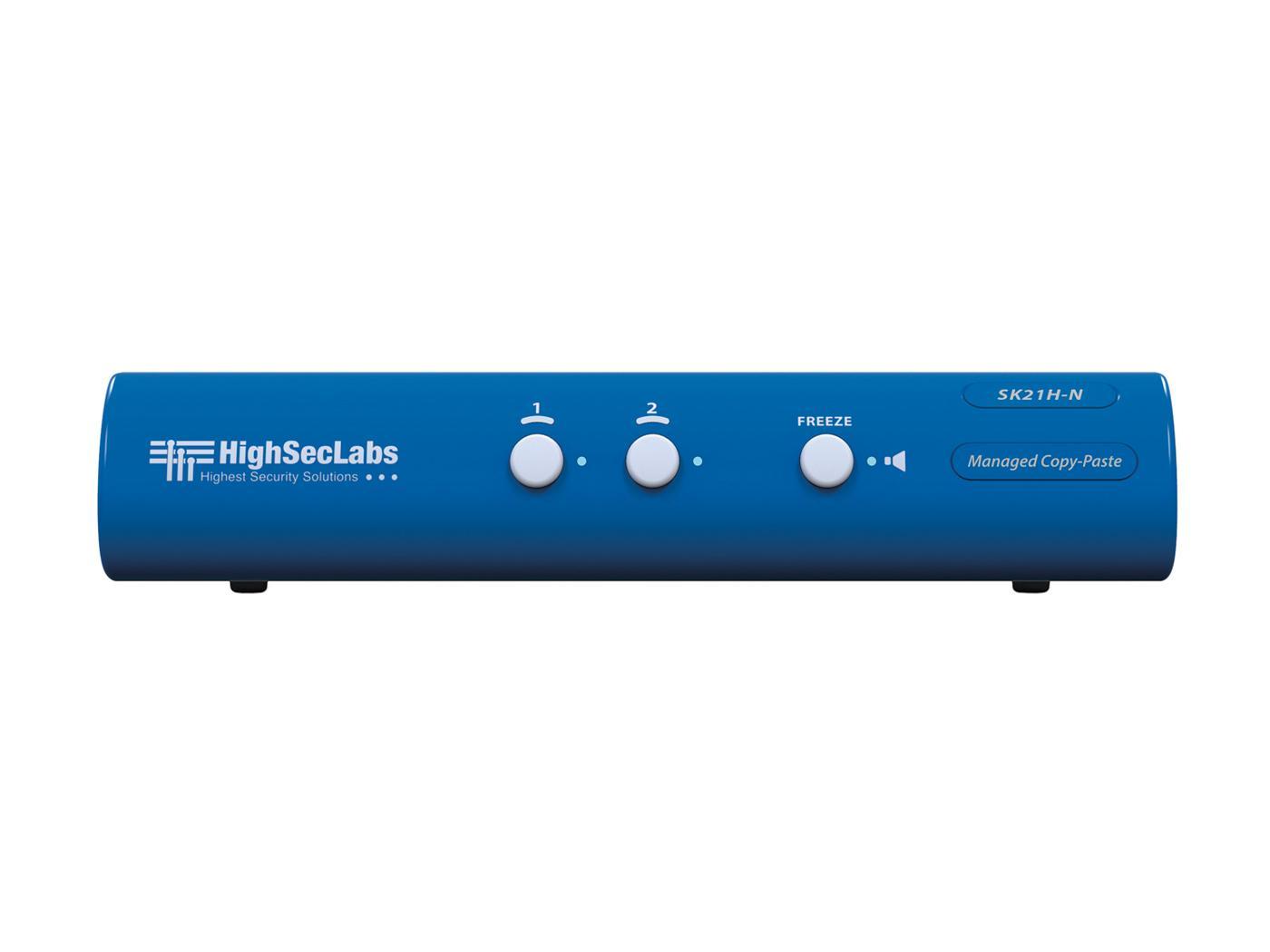 Kramer SK21H-N HighSecLabs 2-Port 4K30 UHD HDMI KVM Switch