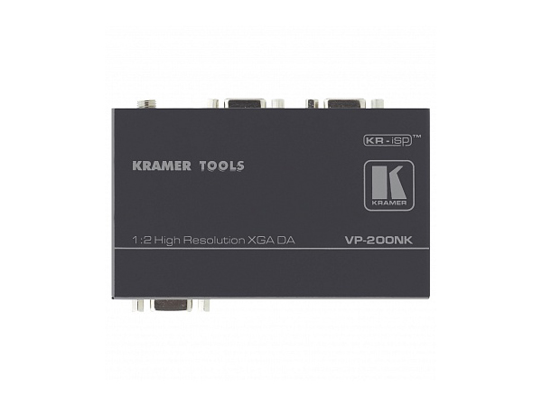 Kramer VP-200NK 1x2 Computer Graphics Video Distribution Amplifier with Kr-isp Sync Processing