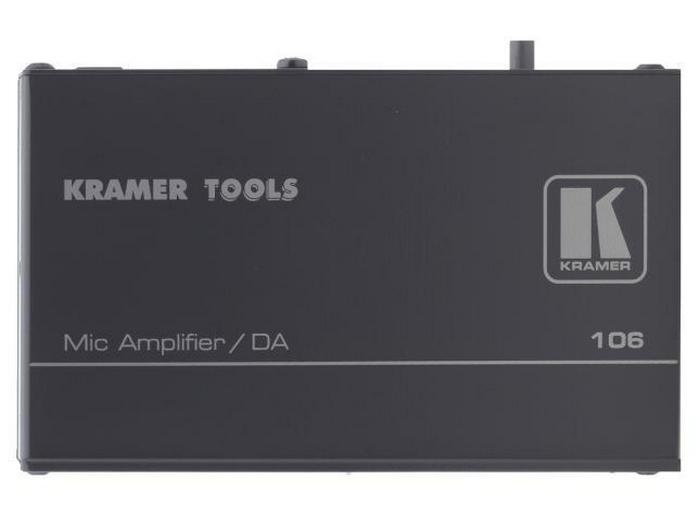 Kramer 106 1x2 Microphone Line and Distribution Amplifier