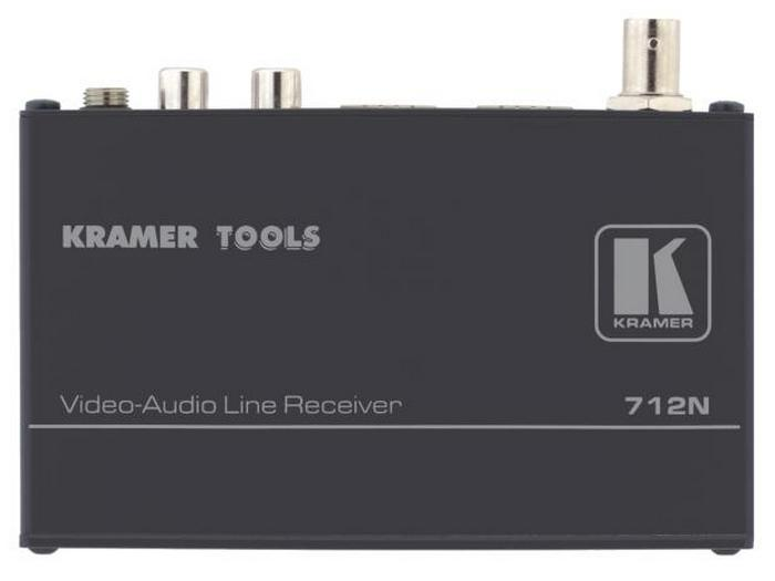 Kramer 712N-b Composite Video/Stereo Audio over Twisted Pair Extender (Receiver)