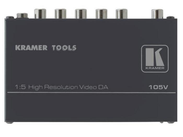 Kramer 105V 1x5 Composite Video Distribution Amplifier