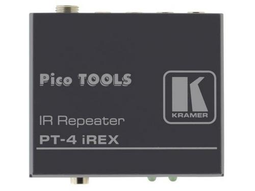 Kramer PT-4iREX Infrared Repeater with External IR Sensor Input