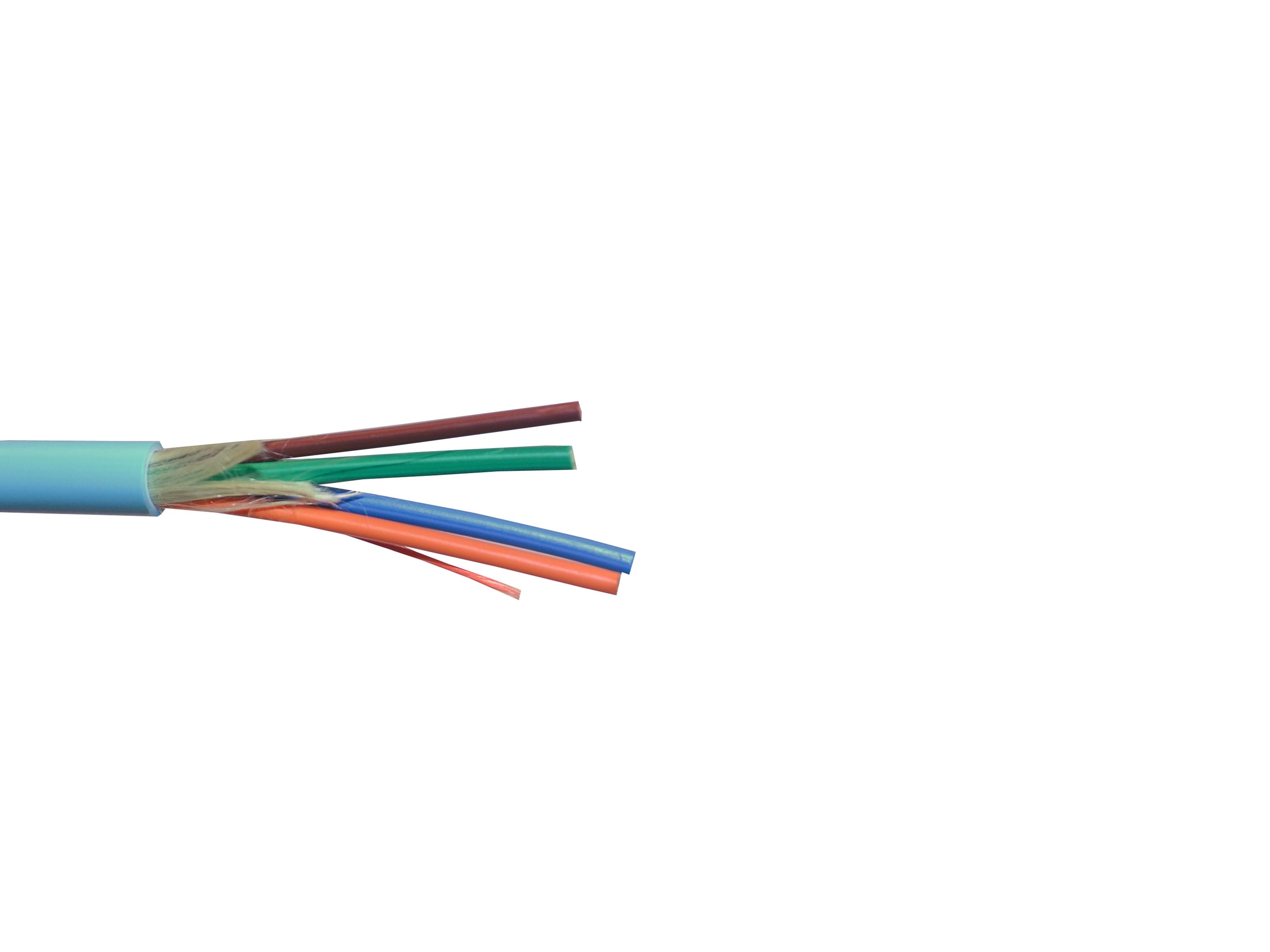 Kramer BCP-4F/50M-500 500ft Optical Fiber Plenum and LSZH Rated Breakout Cable