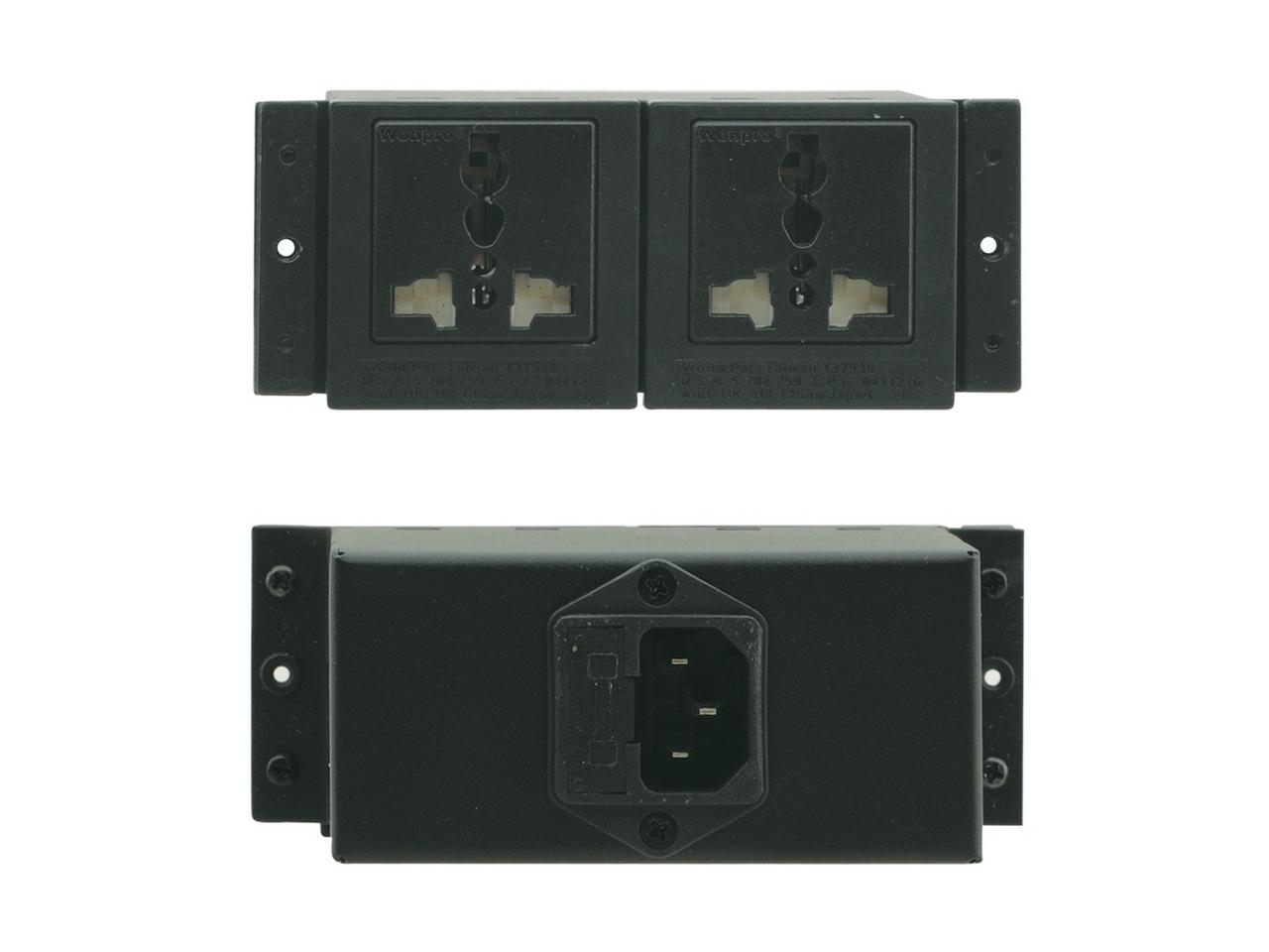 Kramer TS-2U TBUS Double Power Socket - Universal