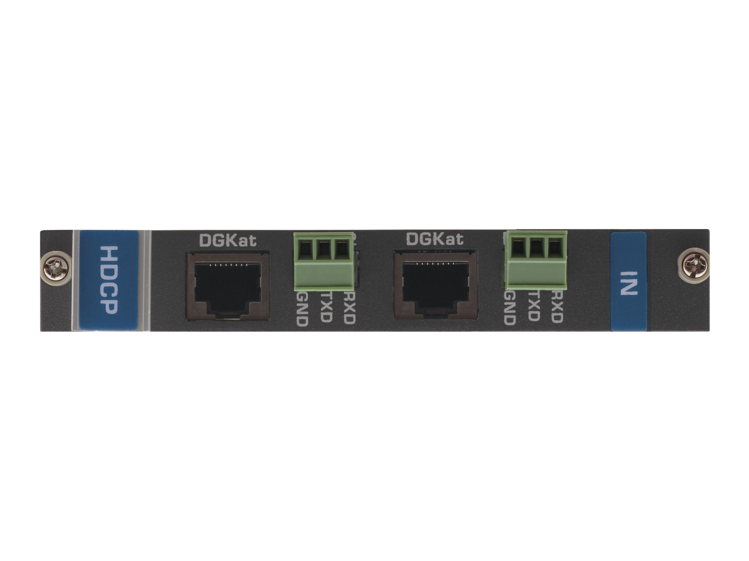 Kramer DGKat-IN2-F16 2-Input HDMI/RS-232 over DGKat Card (F-16)