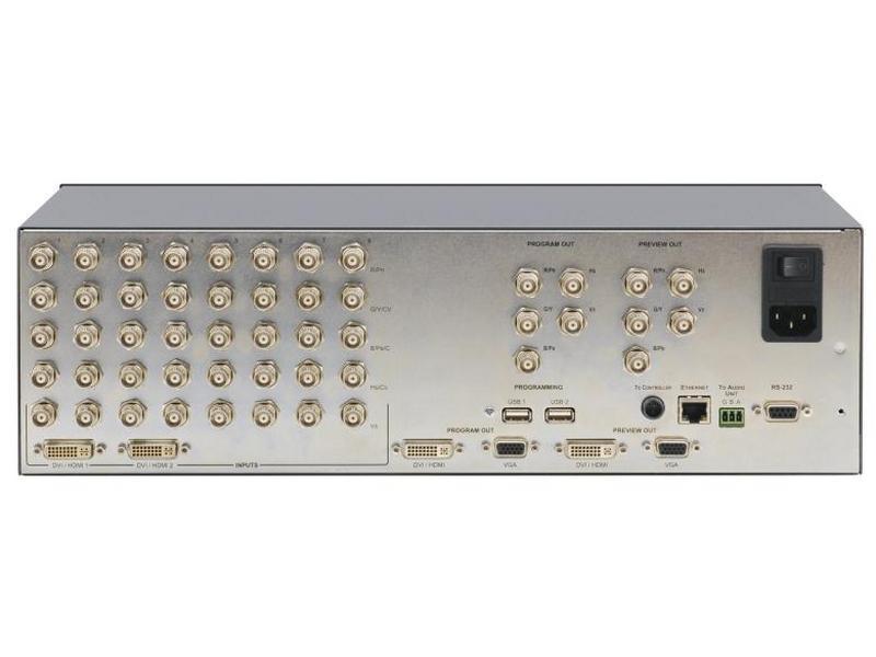 Kramer VP-747 8x2:3 ProScale In-CTRL Dual Scaler Seamless Switcher