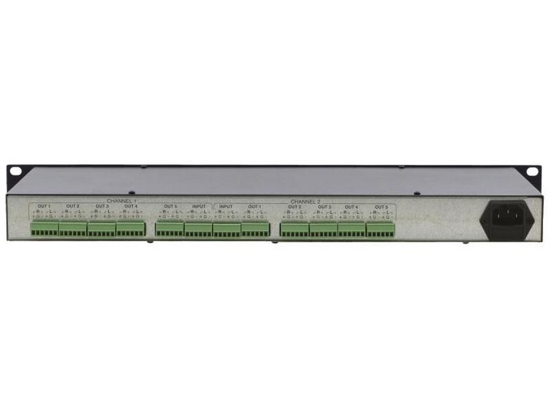 Kramer VM-1610-b 1x10 Balanced Stereo Audio Distribution Amplifier