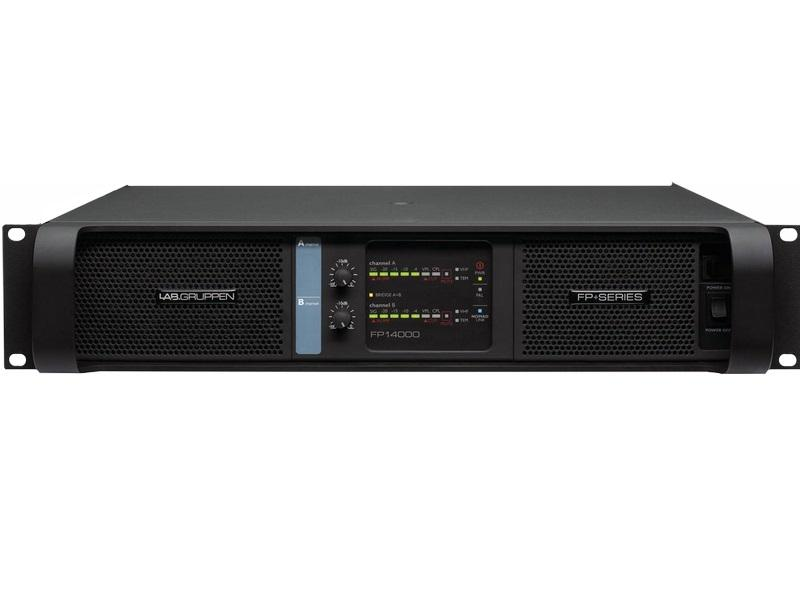Lab.gruppen FP 14000 230E 14000W 2-Ch Amplifier w NomadLink Network Monitoring/Dedicated Control for Touring Applications/230E