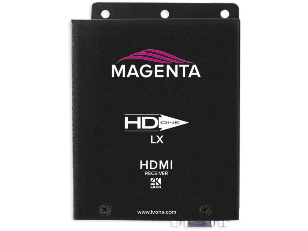 Magenta Research 2211096-02 HD-One LX HDMI 4K UHD HDBaseT Extender (Receiver) with Audio