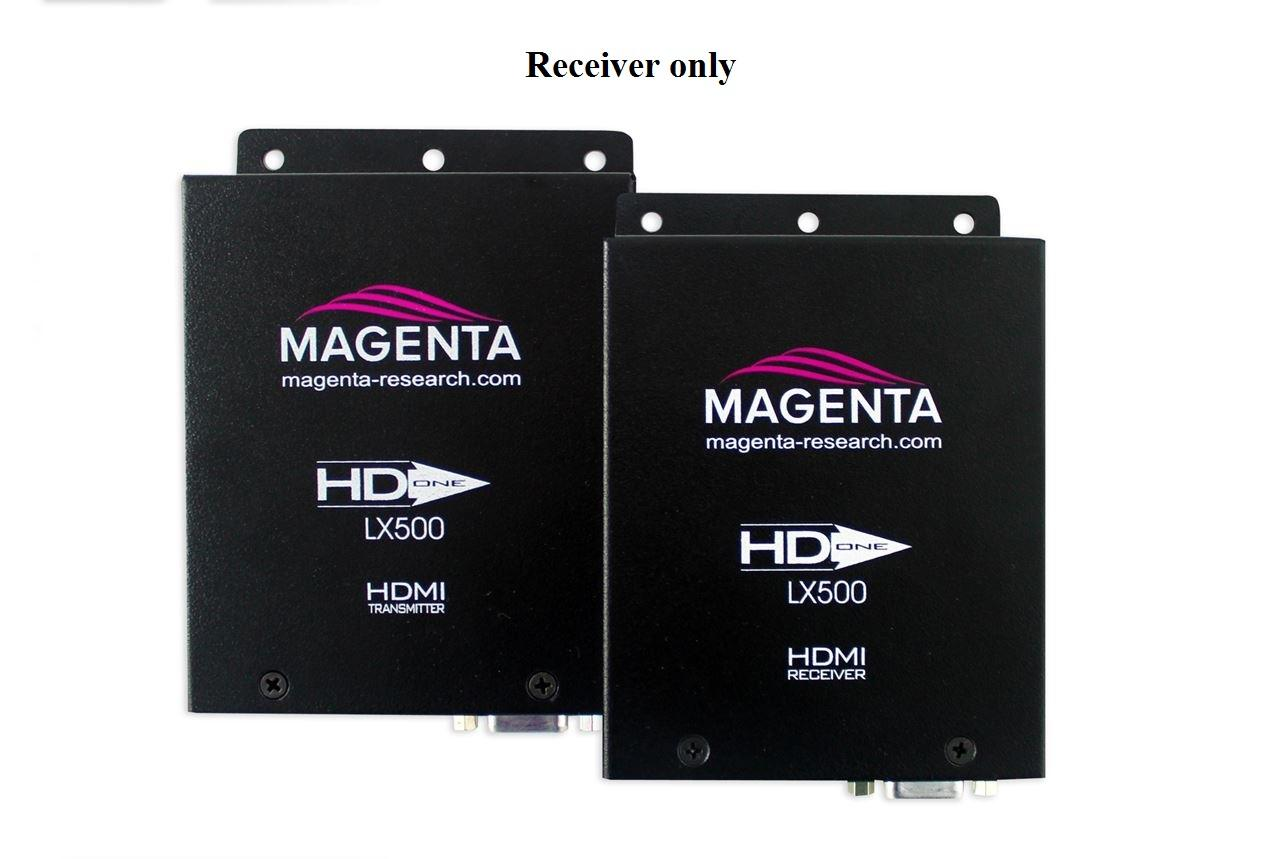 Magenta Research 2211124-01 HD-One LX500 HDMI UTP Extender (Receiver) 500 ft with IR/RS-232